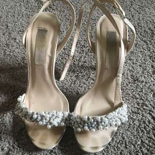 Forever New Pearl Heels