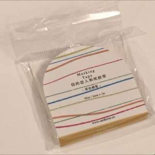 Crayon Marks Washi Tape
