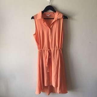 Coral Bar111 Collar Dress