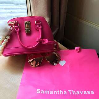 粉紅包包,漂亮又好配