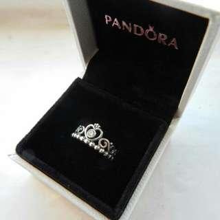 *NEW* 100% Authentic Pandora Tiara Silver Ring
