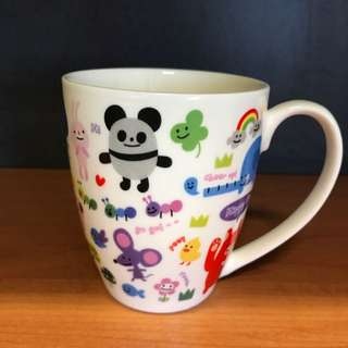 Cute cup with handle