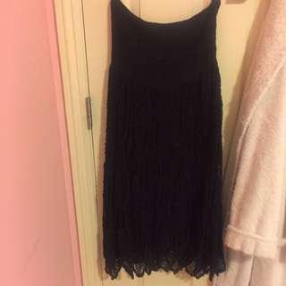 Strapless Back Dress