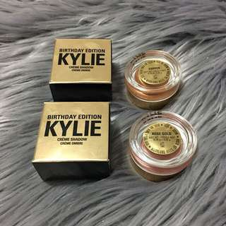 Kylie Birthday Edition cream Shadows