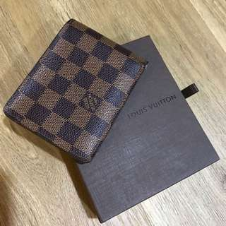 LV Damier Brown Wallet (100% Authentic!)