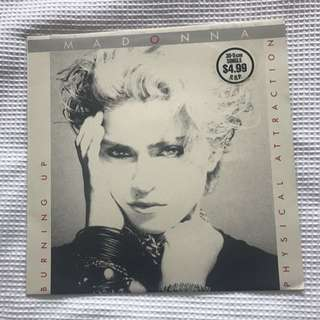 Madonna Burning Up/physical Attraction Vinyl