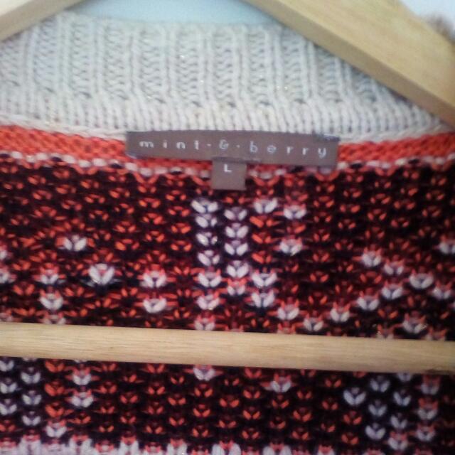 Woolen Cardigan from Mint&Berry in Berlin, Size 10/12