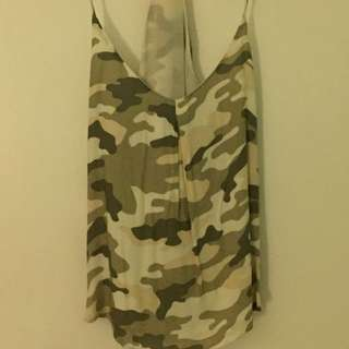 Camouflage Tank Top