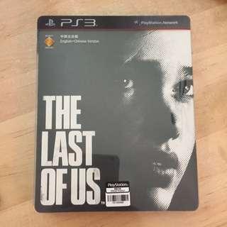 Last Of Us PS3 鐵盒version 9成新