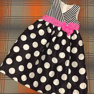 Stripes/Polka Dots - Sunday Dress