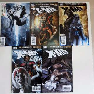 [Box 45] Uncanny X-Men The Extremists set of 5