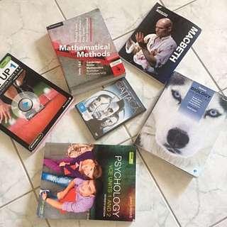 Year 11 Textbooks