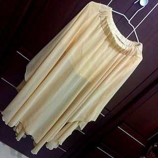 飄逸紡紗長裙