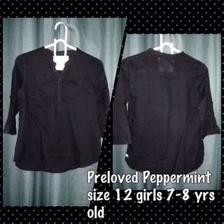 Preloved Peppermint Top