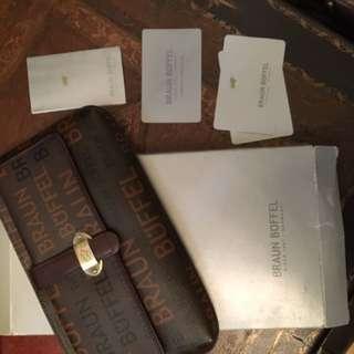 Braun Buffel Travel Wallet