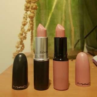 X2 Mac Lipsticks