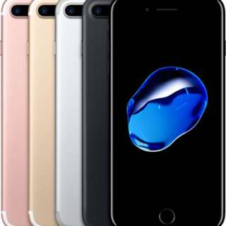 Iphone 7plus 256gb Or 128gb (BN)