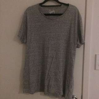 Stray Grey And Dark Grey Gradient T Shirt