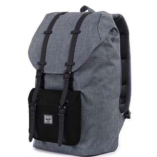 [INSTOCK] Herschel Little America Mid Volume, Grey/Black