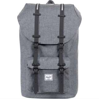 [INSTOCK] Herschel Little America Mid Volume, Grey