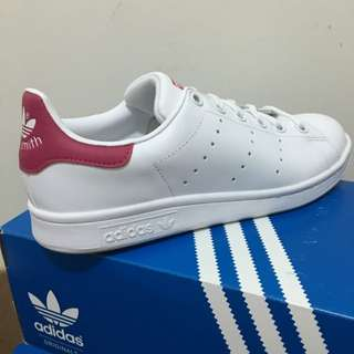 Adidas Stan Smith 史密斯 桃紅色