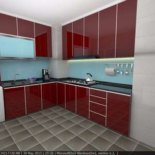 Christmas Promotion; Kitchen Cabinet Packages