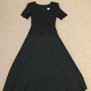 Size 10 Black Cocktail Dress
