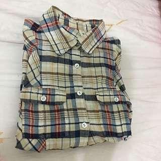 🚚 Gozo 格子襯衫