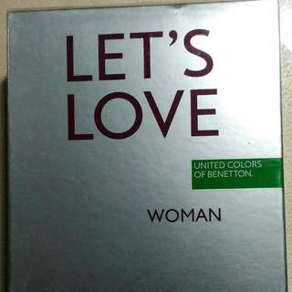 United Colors of Benetton Let's Love Woman 100ml