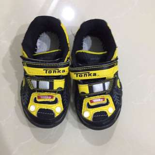 Stride Rite Tonka Tough Athlete Blk/YL