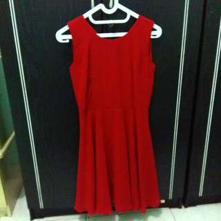 Red Simple Dress