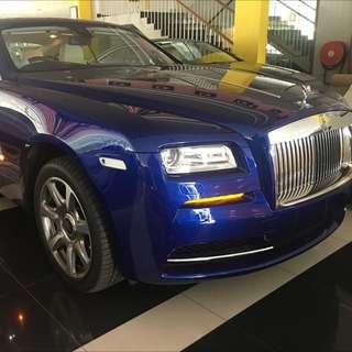 Rolls Royce Wraith 6.6 Coupe 2014 Unreg