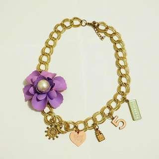 [SALE] Purple Charms Necklace