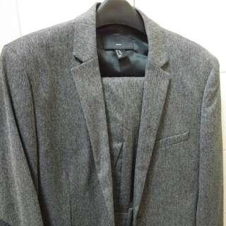 H&M 冬季西裝