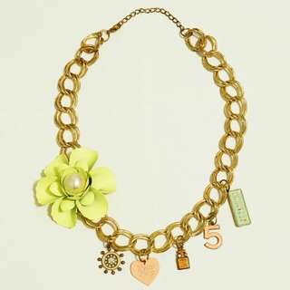 [SALE] Green Charms Necklace