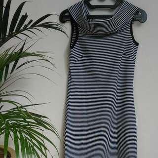 [Preloved] Stripe Vintage Dress
