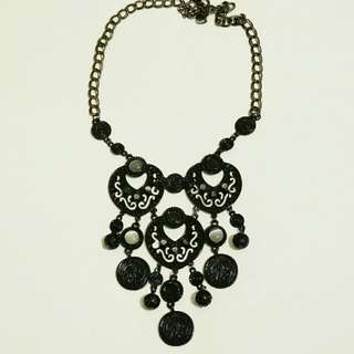 [SALE] Black Statement Necklace