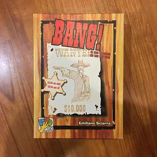Bang! Card Game (pending)
