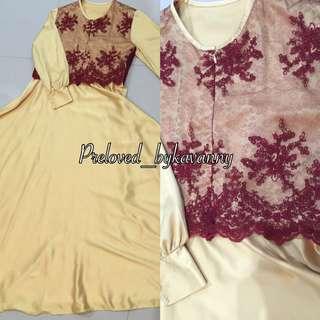 Reprice Dress Brokat