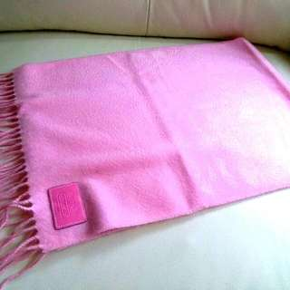 (勁抵!)100%Cashmere Coach Vintage Scarf 頸巾 圍巾