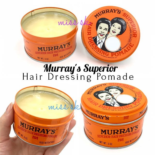[ superior ] murrays pomade superior hair dressing 85 gr
