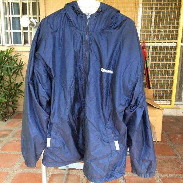 Adidas Blue Jacket With Hood