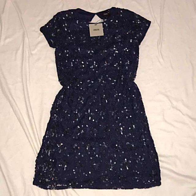 Asos Sequin Shift Dress
