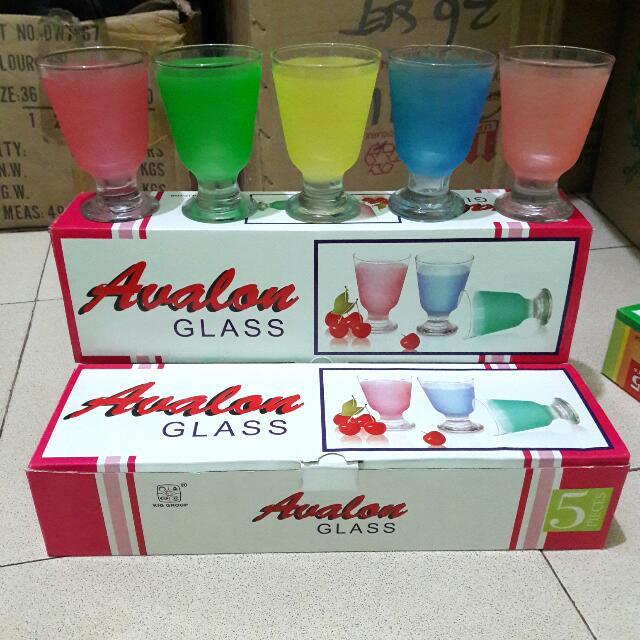Avalon Gelas Pelangi