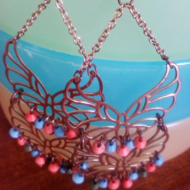 Beautiful Hobo Chic Ornamental Earrings