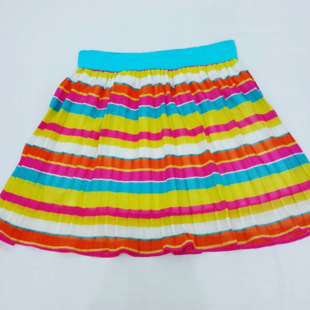 Bench Colorful Pleated Skirt