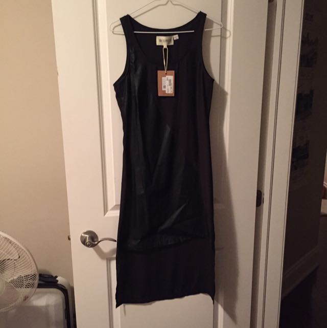 Black Size Small Asymmetric Dress