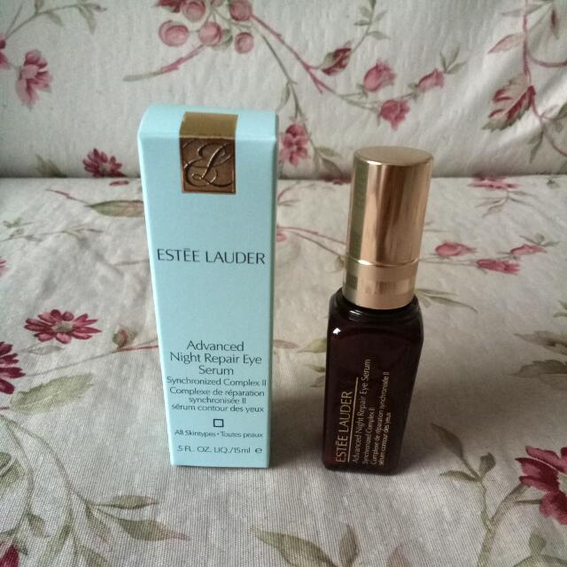 Brand new from the counter, Estee Lauder ANR complex II eye serum 15ml