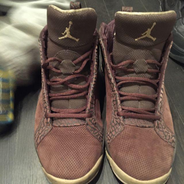 Brown Jordan Shoes Size 9.5