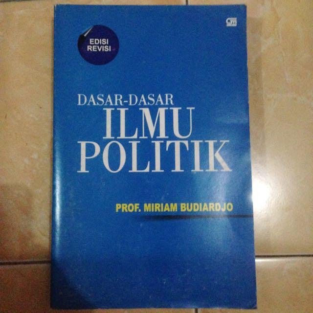 buku ilmu politik